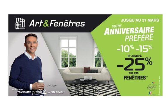 Art&Fenêtres Promotion du 1er Mars au 31 Mars 2017