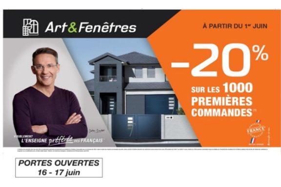 Art&Fenêtres Promotion du 1er Juin au 30 Juin 2017